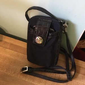 Brighton Crossbody Phone Wallet -Navy Blue